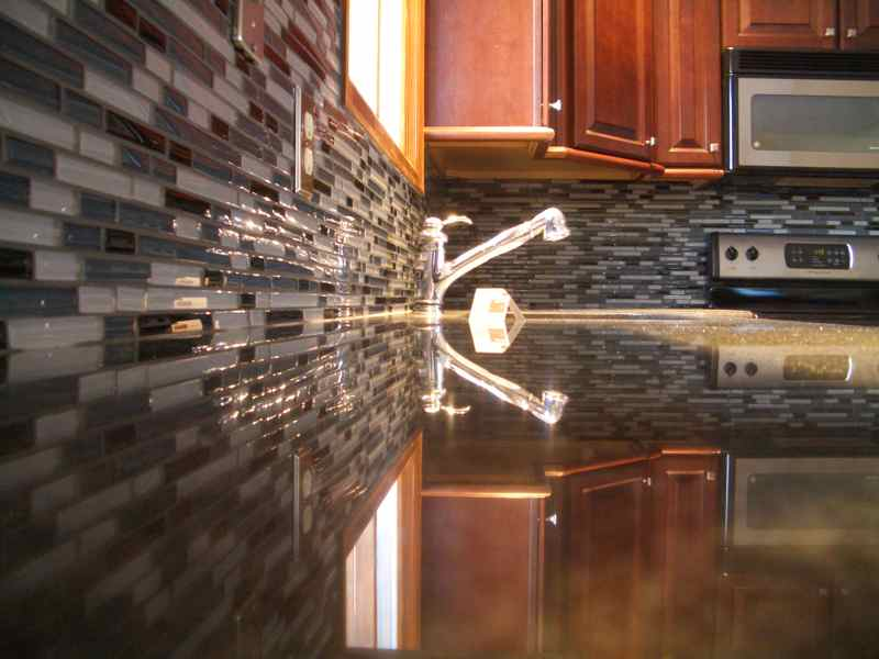 Backsplash -Bevelled Edge Regina Sk Granite, Quartz, laminate